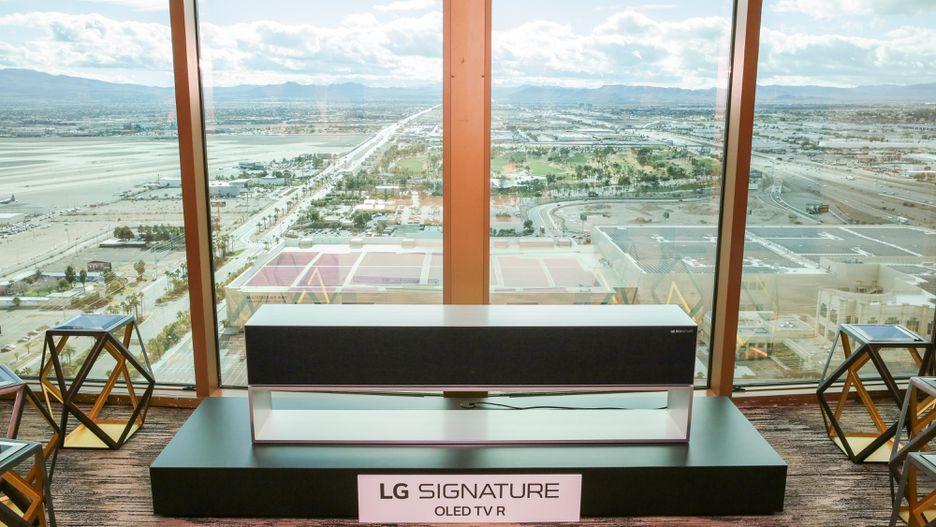 El futuro de la televisión está aquí: se puede decidir el tamaño de la pantalla y será enrollable