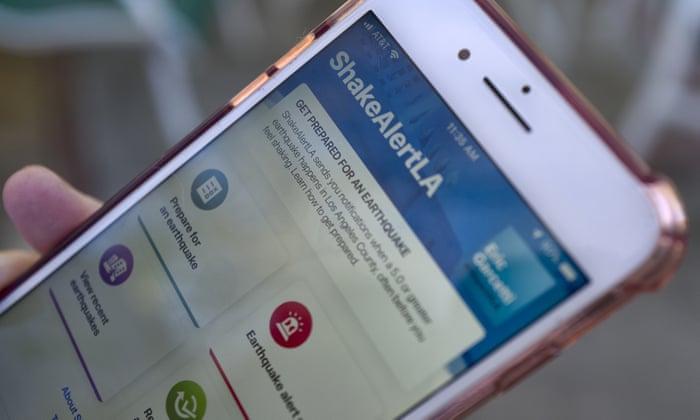 Lanzan aplicación de alerta temprana de terremotos en Los Ángeles